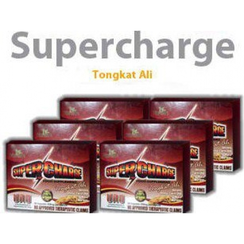 Supercharge (100% Organic) Tongkat Ali, Korean Ginseng