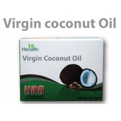 VCO (Virgin Coconut OIl) SoftGel capsule